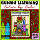 Guided Listening on Holiday Character Traits:  Color by Code
