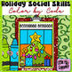 Guided Listening on Holiday Social Skills:  Color by Code
