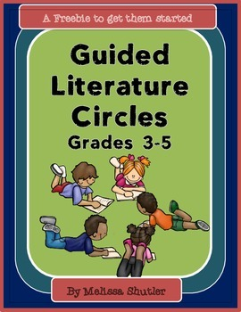 Guided Literature Circles- Lesson 1 Freebie