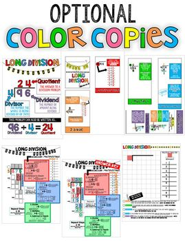 Guided Long Division Bundle