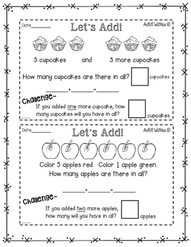 Guided MATH Interactive Notes: Kindergarten and First Grade