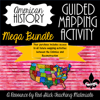Guided Mapping Growing Bundle for Early American History--