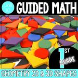 Guided Math 1st Grade - Geometry