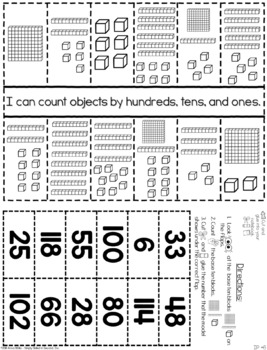 Guided Math 1st Grade - Numbers to 120