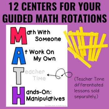 Guided Math Centers: 2-Digit Addition and Subtraction