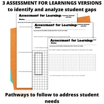 Guided Math: 2D Shapes, Perimeter and Area