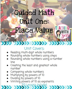 Guided Math 5th Grade: Place Value