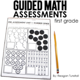 Guided Math Assessments First Grade