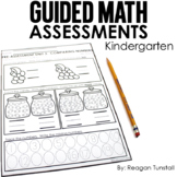Guided Math Assessments Kindergarten