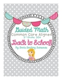 Guided Math: Back to School Freebie! 3 Digit +/- Word Problems
