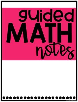 Guided Math Binder!