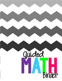 Guided Math Binder First Grade