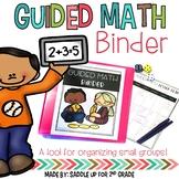 Guided Math Binder   Print & Digital Options