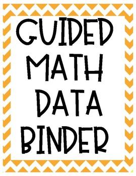 Guided Math Binder Covers FREEBIE