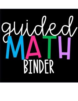 Guided Math Binder: Growing Bundle