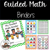 Guided Math Binders Kindergarten: RTI, GATE, differentiated
