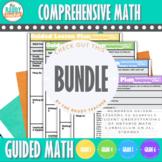 Guided Math   Bundle   Gr 3-6 Ontario Math Curriculum 2020