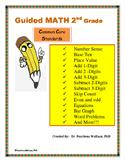 Guided Math Bundle 2nd Grade Number Sense NO PREP