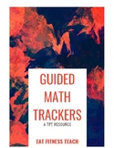 Guided Math Centers Tracker (Data Management ONLY)