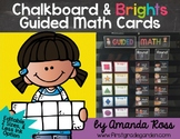 Guided Math Centre Cards {Now Editable!}