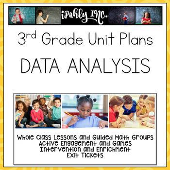 Guided Math Data Analysis Lesson Plan TEKS 3.8A