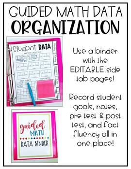 Guided Math Data Organization EDITABLE