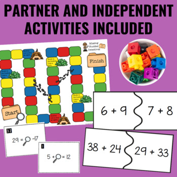 Guided Math Centers: Early Algebra (Expressions & Equality)