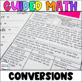 Fifth Grade *Guided Math* - Unit 10- Converting Measurements
