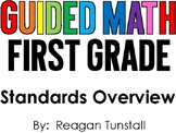 Guided Math First Grade Standards Overview