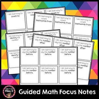 Math Goal Notes