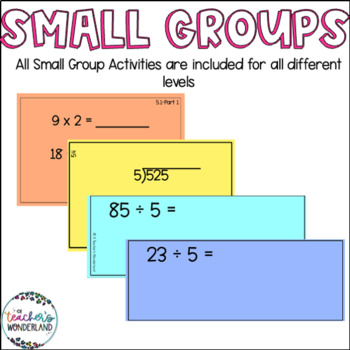 Guided Math Fourth Grade Unit 5- Division