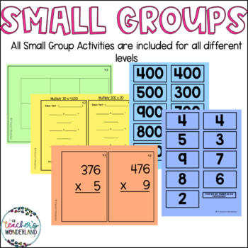 Guided Math Fourth Grade - Unit 6 Multiplication