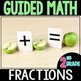 Guided Math Fractions - Grade 2