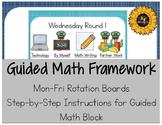 Guided Math Kindergarten Framework