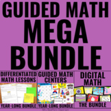 Guided Math Full-Year Lessons and Centers MEGA BUNDLE with