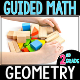 Guided Math GEOMETRY  - Grade 2