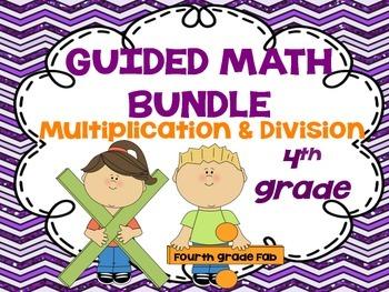 Guided Math Games - 4th Grade Volume 1