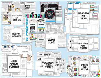 Guided Math - Grade 2 - YEARLONG CURRICULUM