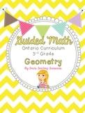 Guided Math Grade 3 Ontario: Geometry