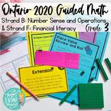 Ontario Grade 3 Math 2020 Curriculum: Number Sense & Opera