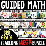 Guided Math - Grade 3 - YEARLONG CURRICULUM BUNDLE