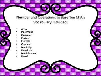 Guided Math Grade 4 Number and Operations in Base Ten