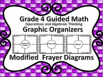 Guided Math Grade 4 Operations and Algebraic Thinking