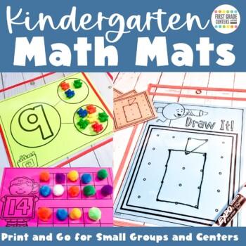 Guided Math Templates Kindergarten