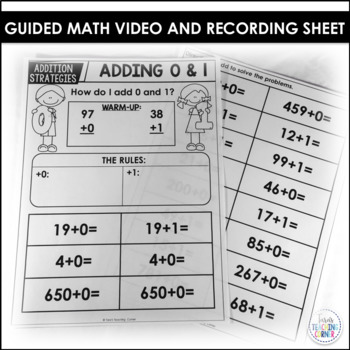 Listen and Learn Math: Adding 0 and 1