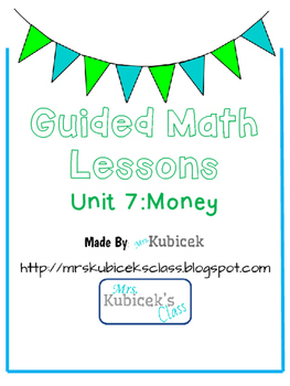 Guided Math Lesson: Money