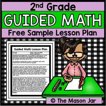 Guided Math Lesson Plan Year Long 2nd Grade Free Sample By The
