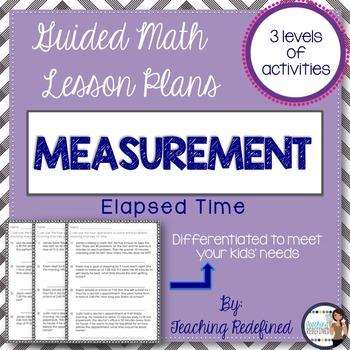 Guided Math Lesson Plans for Measurement Bundle