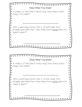 Guided Math Lesson Plans for Measurement: Conversions