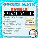 Guided Math Lesson Plans for Place Value {BUNDLE}